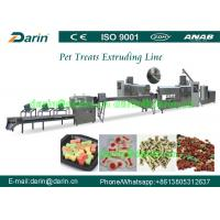 Pet Snacks / Dog Chews / Pet Treat Snack Extruder Machine With CE Manufactures