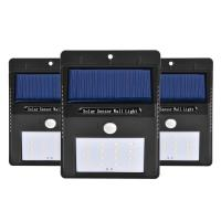 waterproof IP65 solar motion sensor light for garage Manufactures