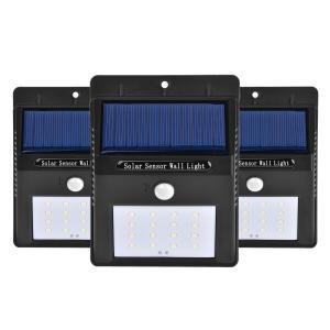 Quality waterproof IP65 solar motion sensor light for garage for sale
