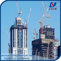 Hot Sell QTD4015 Luffting Tower Crane 40meters Jib 6tons Load Capacity Manufactures