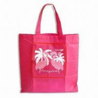 Nonwoven Foldable Shopping Bag, Measures 38 x 40cm, Customized Printed Logos are Welcome Manufactures