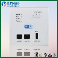 China Wall Mount Mini Wireless Access Point Router with 4G Dongle and 5V/1A USB Charger on sale