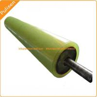Quality Polyurethane Conveyor Rollers Caster rollers Wear Resistance PU Roller with for sale