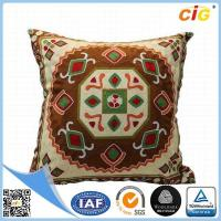 Washable Home Decorative Throw Pillow Covers for Sofa or Bed Red / Dark Brown / Buff / Gray for ...