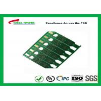 2 Layer Flash Gold PCB Green Solder Mask Quick Turn PCB Prototypes Fiducial Marks Add Manufactures