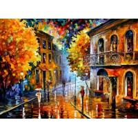 China knife oil painting on canvas on sale