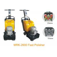 8 Heads Stone Granite Floor Polishing Machine , High Speed 2600RMP Manufactures