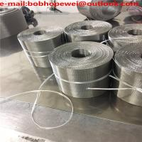 China Plastic extruder 120x15 152x24 132x 17 mesh auto ss filter conveyor belt reverse dutch stainless steel woven wire mesh on sale