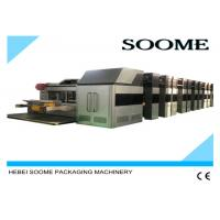 Quality Vacuum Transfer Flexo Printer Slotter Die Cutter , High Defination Rotary Die for sale