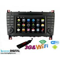 China Mercedes BENZ GPS Navigation With Android Double Din DVD Audio Radio on sale