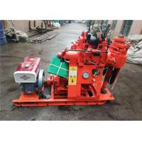 Rock Bore Small Water Well Drilling Rig For Drilling Machine 2200r/Min Rated Speed Manufactures