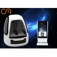 Coin Operated Virtual Reality Simulator Space Capsule For Amusement Park Manufactures