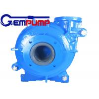 6/4E-Ah Slurry Pump / Heavy Duty Mineral Processing Centrifugal Coal Mining Slurry Pump Manufactures