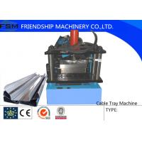 China 200mm - 950mm Cable Tray Cable Ladder Forming Machine With PLC Control System on sale