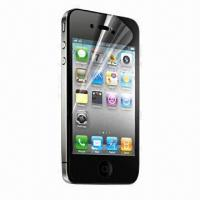 Quality Transparent Protection Film, Imported Thick Materials from Japan, Suitable for iPhone 4 and Mirror for sale
