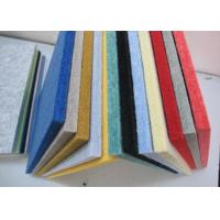 Room Sound Insulation Polyester Fabric Acoustical Wall Panels Customized Manufactures