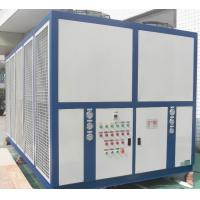 Plate-Fin Typed Air-Cooled Screw Chiller Machine For Mold Injection RO-300AS Cooling Capacity 300KW Manufactures