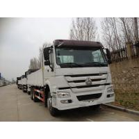 40 Ton Euro II ZF8098 Steering Sinotruk Howo7 Heavy duty Cargo Trucks with 10tires LHD336HP Sigle bed Manufactures