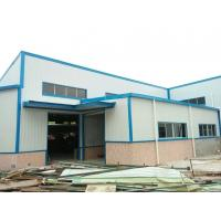 Light Weight Steel Fabricated Buildings , Galvanizing Pre Manufactured Steel Buildings Manufactures