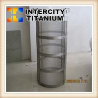 Quality Titanium Anode Baskets for Electroplating with Platinum Coating for sale