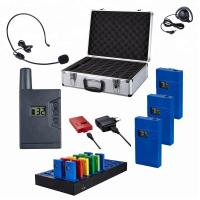 portable charger museum audio guide system  for tourist group Manufactures