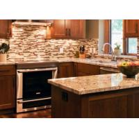 Custom Stone Kitchen Countertops / Natural Marble Kitchen Worktops Manufactures