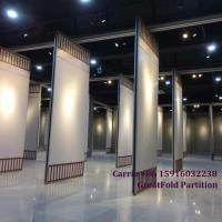 China Banqueting hall soundproof movable walls acoustic operable wall partitions on sale