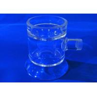 China Flask Combustion Boat Chemistry Lab Glassware High Temperature Resistance on sale