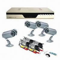 4-ch H.264 DVR Kit for Outdoor Infrared Cameras, Video Surveillance System Manufactures