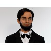 China Famous  American President  Abraham Lincoln Wax Figure / Celebrity Wax Statues on sale
