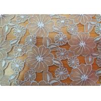 Beautiful Upholstery Dress Sofa Polyester Embroidered Fabric Manufactures
