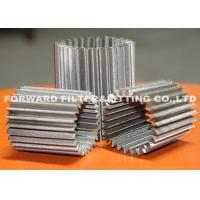 Buy cheap SS304 pleated stainless steel mesh for various inner filtration application ,the from wholesalers