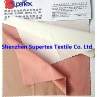 Combed 100GSM 40S Custom Cotton Fabric Solid 145CM Cotton Poplin Fabric Manufactures