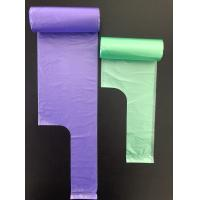 HDPE 30 Liter Colored Garbage Bags ,Plastic High Density Trash Bags 500 *600mm Manufactures