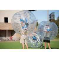 Red / Blue / Orange Inflatable Bubble Ball Soccer 1.00 Mm TPU Buddy Bumper Ball Manufactures