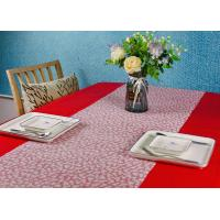 China Biodegradable Colored Waterproof Wood Pulp Disposable Paper Table Cloth on sale