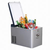 China 25L DC Compressor Car Cooler Box with High/Low Speed Function and Metal Body on sale
