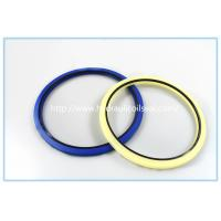 Creamy White Polyurethane PU Hydraulic Rod Buffer Seal For Excavator / Bulldozer Manufactures