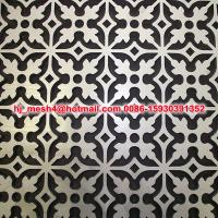 Quality good price laser cut screen fence for sale