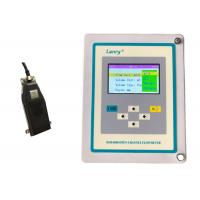 Wall Mounted Ultrasonic Open Channel Flow Meter ±2% Measured Velocity Manufactures