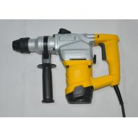 Single Phase Heavy Duty Sds Hammer Drill 28mm 110V 60HZ For Concrete / Wood Manufactures