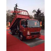 10T HOWO Dump Commercial Trucks with 110HP EuroIII Front Lifting 4x2 4tires Manufactures