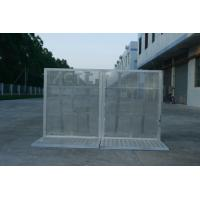 Lightweight Road Traffic Barriers , Aluminum Temporary Pedestrian Barriers Manufactures