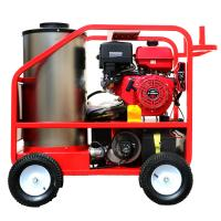 Red Hot Water High Pressure Cleaner , Electric Steam Cleaner Pressure Washer Manufactures