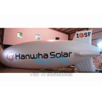 China Inflatable Zeppelin Air Balloon / Helium Advertising Blimp For Commercial Event on sale