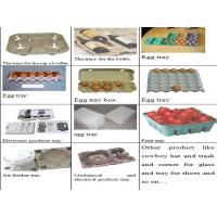 Recycled Paper Egg Tray Molding Machine , Egg Tray Forming Machine Manufactures