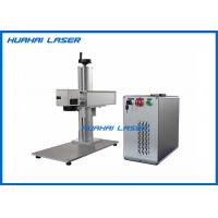 China Fiber Type Color Laser Marking Machine Air Cooling High Temperature Resistance on sale