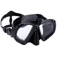 Food Grade Unisex Silicone Diving Mask With Camera Mount / Durable Buckle Manufactures