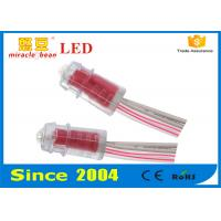 Advertising Signboard Led String Lights Waterproof 9mm Red Color Manufactures