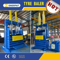 Hydraulic scrap tire baler machine/used tire baler for sale with CE Manufactures